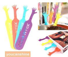 4pcs Novelty Candy Color Help Me Bookmarks Gift Label Memo Book Marker Bookworm