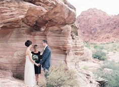 photo: Gaby J Photography   officiant: Peachy Keen Unions   Venue: Calico Basin at Red Rock   vegas destination desert wedding