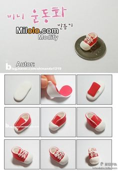 Polymer Clay Sneakers