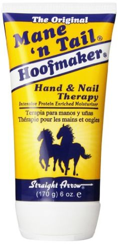 STRAIGHT ARROW PRODUCTS 544236 Hoofmaker Hand and Nail Therapy for Horses, 6-Ounce STRAIGHT ARROW PRODUCTS INC http://www.amazon.com/dp/B000TG84BC/ref=cm_sw_r_pi_dp_xpP5tb1TQ299X