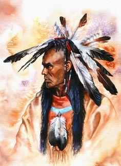 Pride.  Peter Williams.  Watercolor