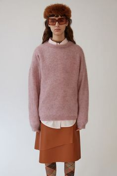 Acne Studios Dramatic Moh Dusty Pink 375x Acne Studios 8fc871fdeef35