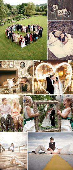 Unique Wedding Photo Ideas