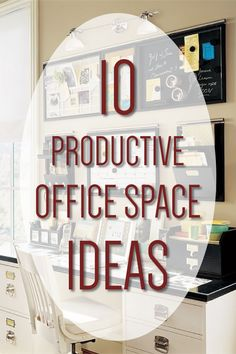 10 Productive Office Space Ideas - Dream Home Office Looks You Will Want To Steal #homeoffice #officedecor #homeofficedecor #homedecor #decoratedoffice #productiveoffice #officespace
