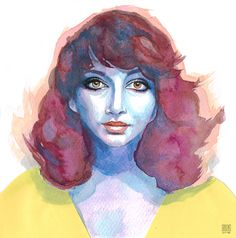 Kate Bush | zoom | digart.pl