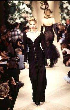 Yves Saint Laurent: Haute Couture Spring 1996