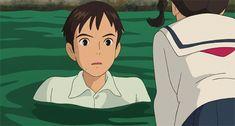 Screencap Gallery for From Up on Poppy Hill Bluray, Studio Ghibli). Hayao Miyazaki, Studio Ghibli Art, Studio Ghibli Movies, Totoro, Personajes Studio Ghibli, Nausicaa, Up On Poppy Hill, Japanese Animated Movies, Arte Disney