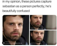 bless this man Avengers Memes, Marvel Jokes, Marvel Funny, Marvel Avengers, Loki Funny, Sebastian Stan, Bucky Barnes, Winter Soldier Bucky, Bucky And Steve