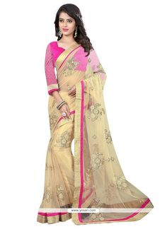 Winsome Net Embroidered Work Designer Saree Model: YOSAR6513