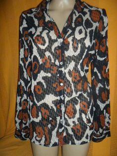 Brecho Online - Belas Roupas: Camisa Yessica