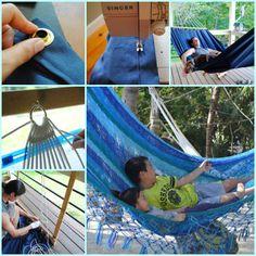 step by step hammock-wonderfuldiy