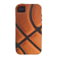 Funny Basketball Sports Realistic Ball Photo Print Vibe iPhone 4 Case