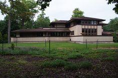 Willits House / 1445 Sheridan Road, Highland Park, IL / 1901 / Prairie / Frank Lloyd Wright