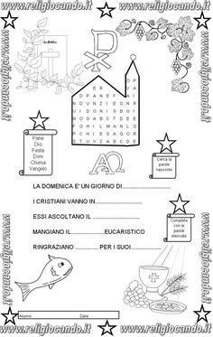 prova di ingresso di religione cattolica per la classe terza della scuola primaria