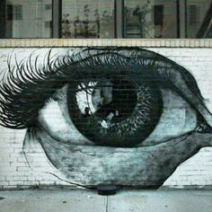 Street art in Brooklyn, NYC, USA, by street artist Anil Duran.