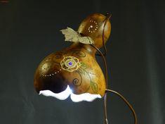 Abajur de Cabaça + LED (exótico) Gourd Lamps                              …