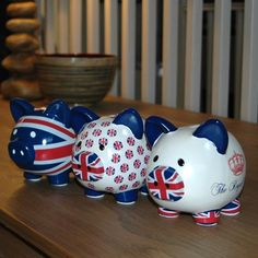 Union Jack Piggy Banks