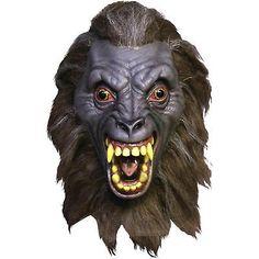 Adult Halloween Mask Werewolf Demon Accessory Demon Horror Costume Prop Fancy