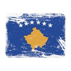 Shop Grunge Kosovo Flag Postcard created by electrosky. Kosovo Flag, Political Events, Vacation Pictures, National Flag, Custom Posters, Canvas Art Prints, Custom Framing, Flags, Colorful Backgrounds