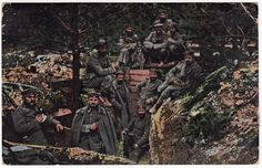 Troupes allemandes | Les combats de l'Argonne en 14-18