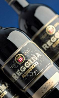 Reggina Estate Wine Collection on Packaging of the World - Creative Package Design Gallery