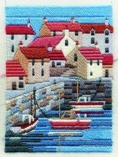 Coastal Summer Long Stitch , from Derwentwater Designs