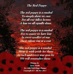 Poppies for veterans Remembrance Day Quotes, Remembrance Day Activities, Remembrance Sunday, Red Poppies, Veterans Day Quotes, Armistice Day, Remember The Fallen, Military Quotes, Souvenir