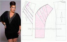 Plus dress, patterns instructions