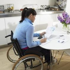 Handicapped individuals require accessibility changes to the home for safety.