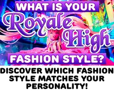 Match your outfit to your personality in Royale High! Take this style quiz to see what your personality reveals! Royale High Outfit Ideas