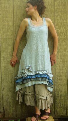 Ruffle and Swirly Dress - DR20