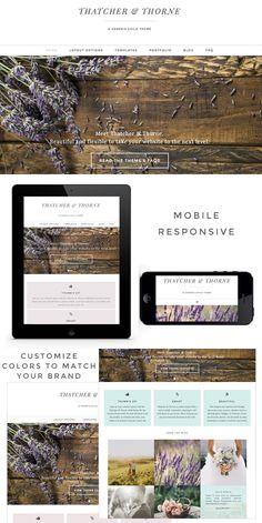 Thatcher & Thorne Genesis Theme. WordPress Photography Themes. $50.00