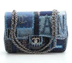 Chanel-Patchwork-Denim-Classic-Flap-Bag-15P-NEW