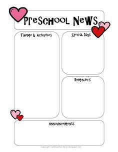 67 best newsletter templates images on pinterest classroom setup