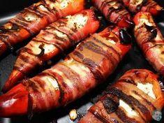 Gefüllte Spitzpaprika mit Speck - #lowcarb - Haunis Food Blog