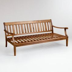 St. Martin Deep Bench Frame | World Market