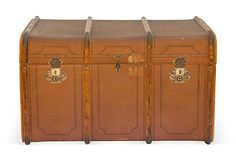 Large Vintage Travel Trunk on OneKingsLane.com