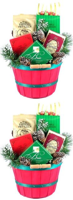 Gift Basket Village Happy Holidays!! Christmas Gift Basket