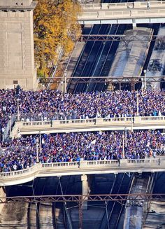 Cubs World Series victory parade in Chicago,Nov 4,2016