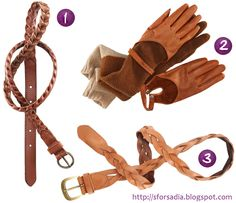 leather accessories - Google Search