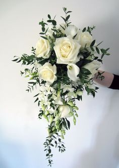 calla lily white rose and ivy bouquet - Google Search