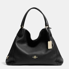Shop The COACH Edie Shoulder Bag In Polished Pebble Leather. Enjoy Complimentary Shipping & Returns! Find Designer Bags, Wallets, Shoes & More At COACH.com!