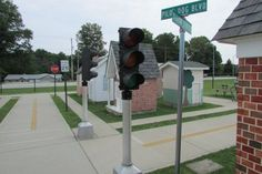 Road Signs Safety Village Stow Ohio