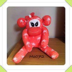 Peachy monkey Sock Monkeys, Dinosaur Stuffed Animal, Crafty, Toys, Animals, Activity Toys, Animaux, Animal, Animales