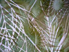 Gelli Plate Prints - Sandra Pearce