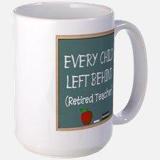 Retired Teacher Mug for