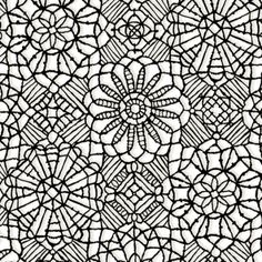 Quilting Treasures Amazing Lace 24632 ZJ White/Onyx Lace (Print Fabric - Not Lace) $9.30/yd