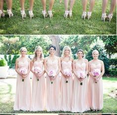 Long gowns for bridesmaids?