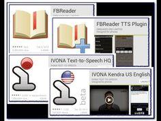 FBReader + TTS + Ivona video