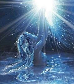 Lemanja, goddess of the moonlight and the ocean